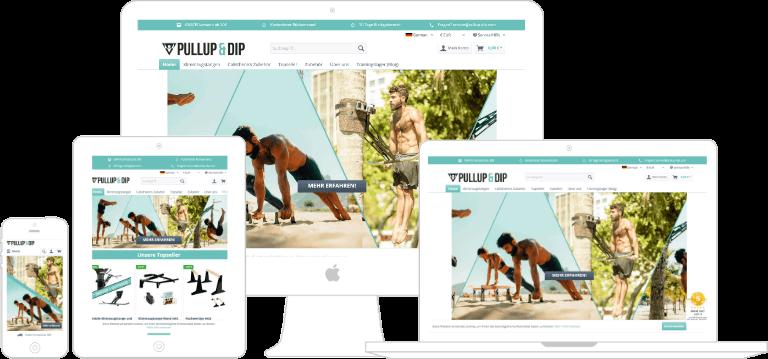 Projekt Pullup & Dip