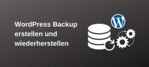 Read more about the article WordPress Backup erstellen und wiederherstellen