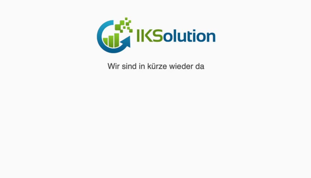 WordPress Wartungsmodus - Coming Soon page - Vorschau